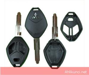 Casing Kunci Mobil Mitsubishi 3 Tombol