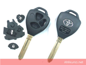 Casing Kunci Mobil Toyota 3Tombol