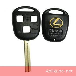 Casing Rumah kunci Mobil Lexus 3 Tombol