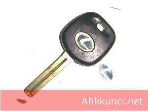 Kunci Kosong transponder Mobil Lexus (pisau Pendek)