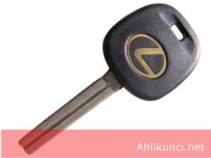 Kunci KosongTransponder Mobil Lexus (pisau Panjang)