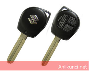 SUZUKI 2button Remote Key(Toy43 blade) 315MHz,4D-66 Chip