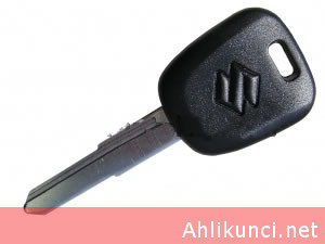 Suzuki transponder key shell