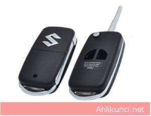 suzuki flip key shell 2button