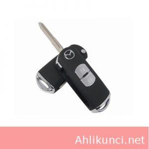 Casing Kunci Immobilizer Mobil Mazda 2 Tombol