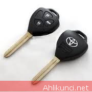 Casing Kunci Mobil Toyota 3Tombol Kosongan