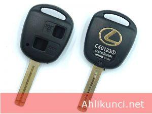 Casing Kunci Transponder Lexus 2 Tombol