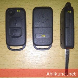 Kunci Mobil Mercedes Benz 2 Tombol