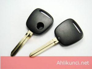 Kunci Transponder Mobil Mazda 1 Tombol Untuk Penggantian Remote