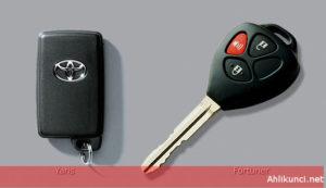 Kunci mobil imamobilizer toyota yaris dan fortuner