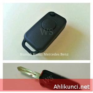 Mercedes Benz W124 W202 W210 W140 Rumah Casing Kunci Remote